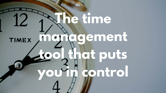 the time management tool that puts you in control