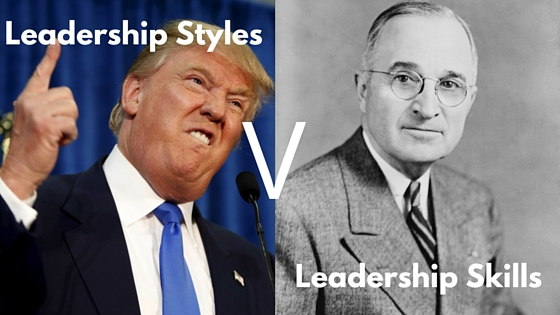 leadership styles V leadership skills